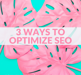 3 SEO Optimization Tips