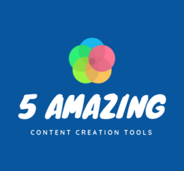 Check out these 5 content creation tools!
