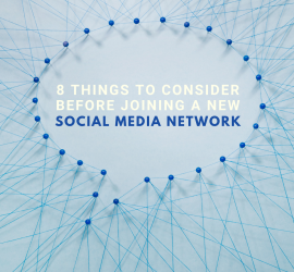 Things small businesses should consider before joining a new social network.